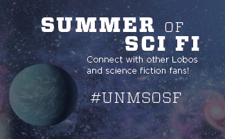 Sci Fi movie night, book club, and trivia game. Zoom with us for Summer of Sci Fi.